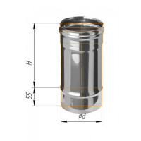 Corax Дымоход 0.25м (430/0.5 мм) ?100 мм